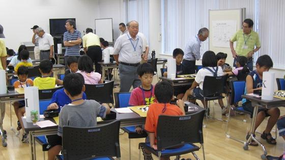 夏休み子ども囲碁大会