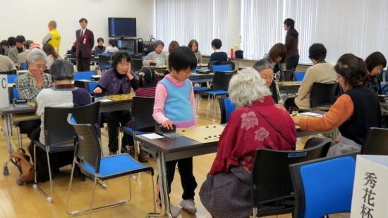 第68回本因坊秀策囲碁まつり女流クラス別競技大会